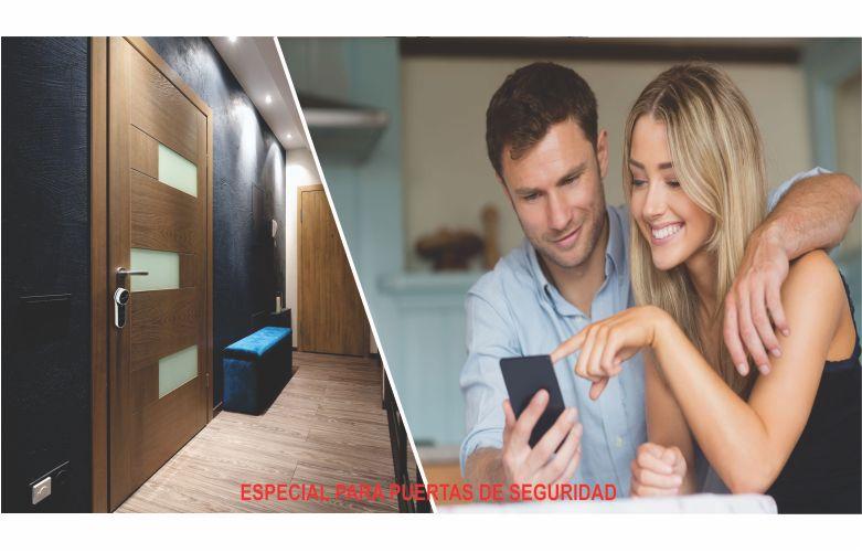 puertas de seguridad con apertura celular