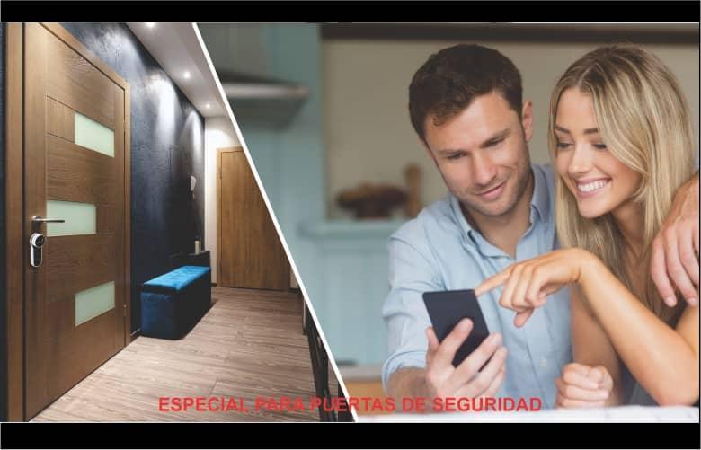 puerta de seguridad apertura con celular